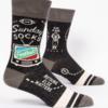 Blue Q Men's Socks Sunday