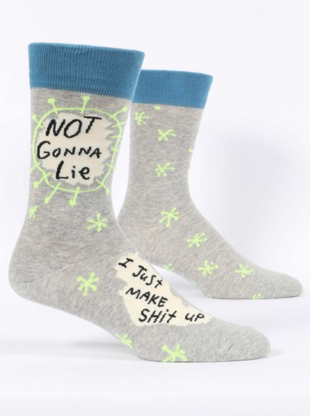 Blue Q Men's Socks Not Gonna Lie