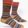 Blue Q Men's Socks Pretty Decent BF