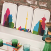 Teroforma City Shapes Cocktail Tray Toronto