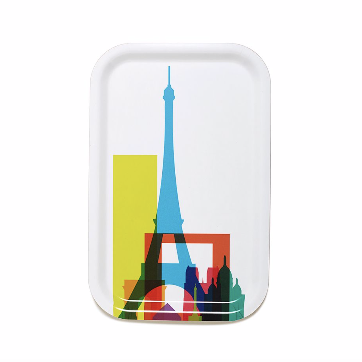 Teroforma City Shapes Cocktail Tray Paris