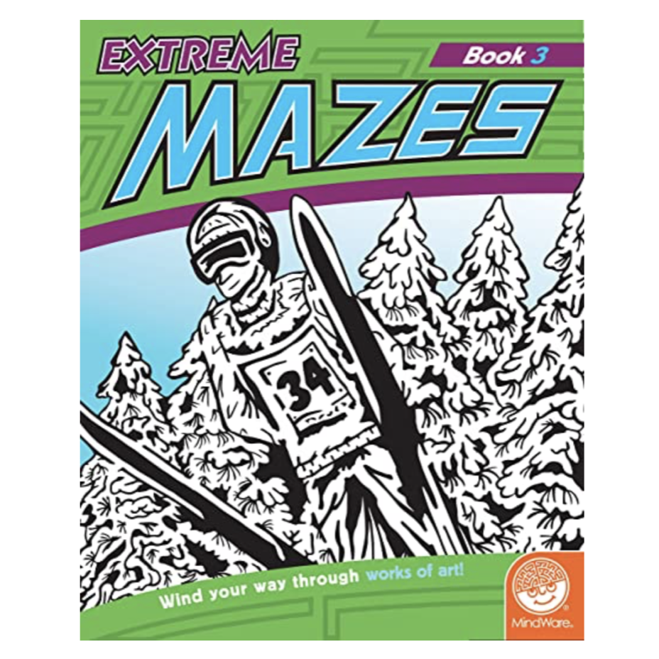 Mindware Extreme Mazes: Book 3