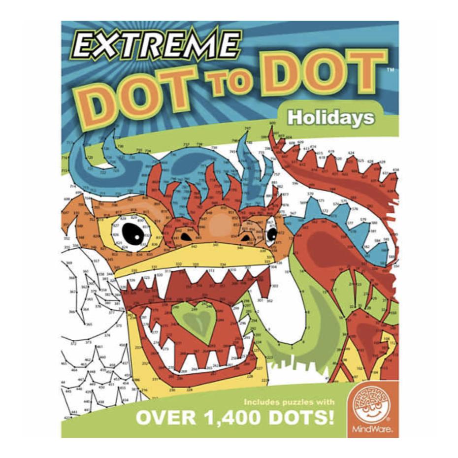 Mindware Extreme Dot to Dot: Holidays
