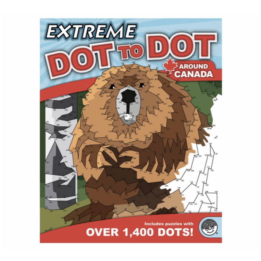 Mindware Extreme Dot to Dot: Around Canada