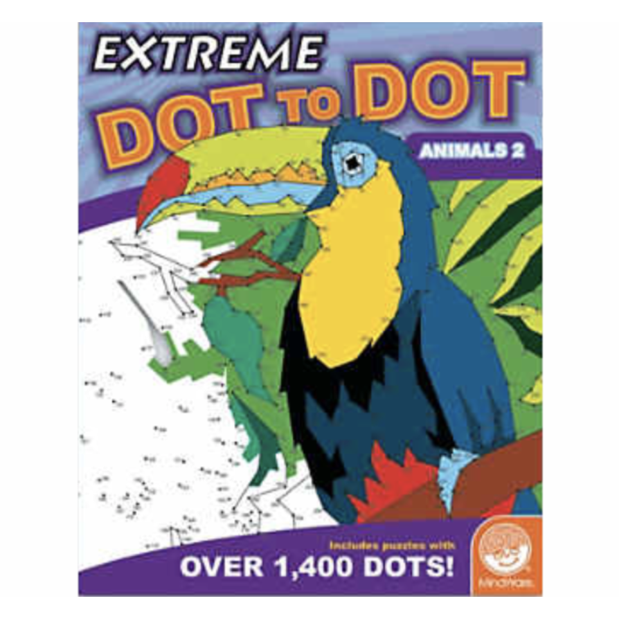 Mindware Extreme Dot to Dot: Animals 2