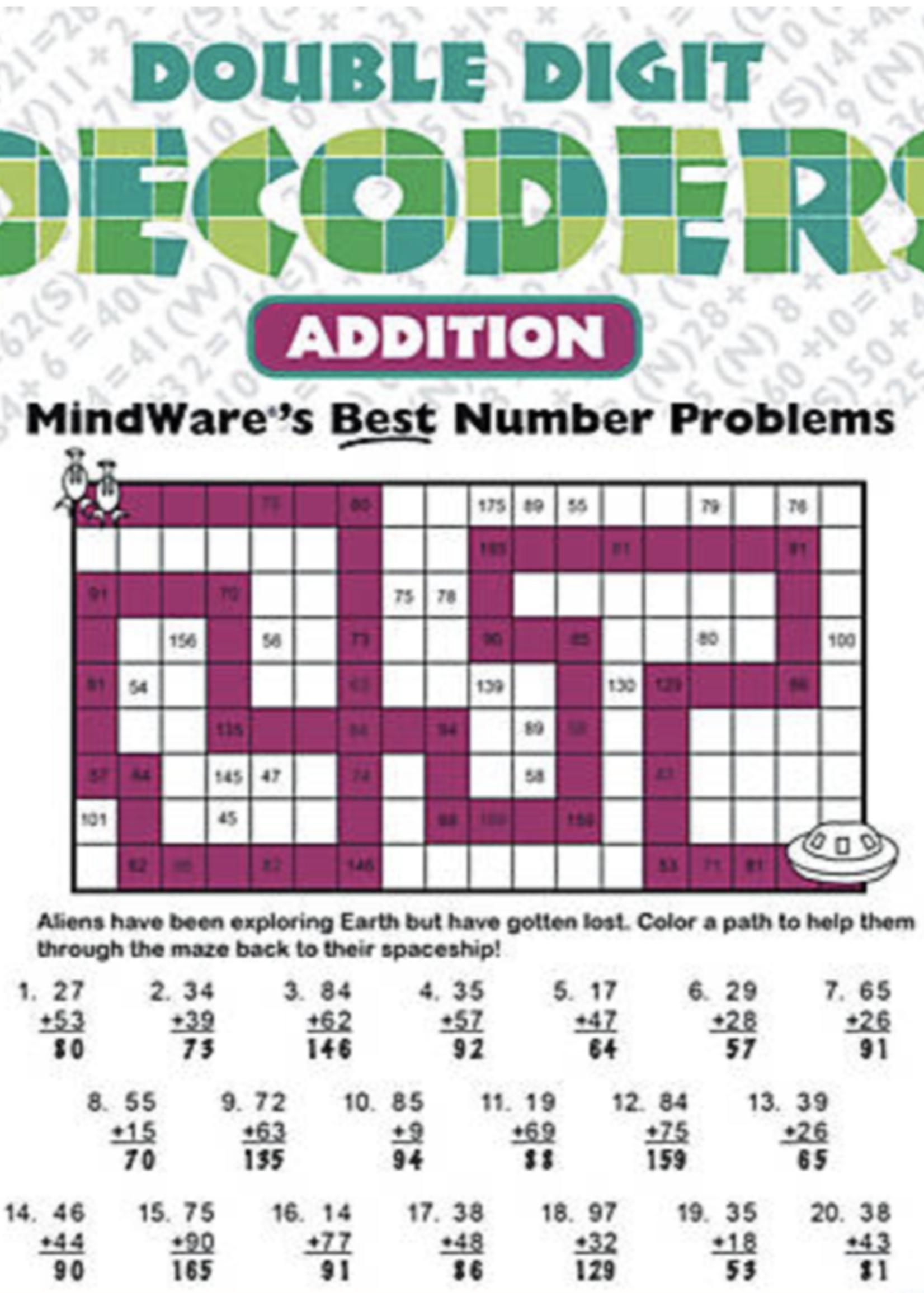 Mindware Mindware Double Digit Decoders: Addition