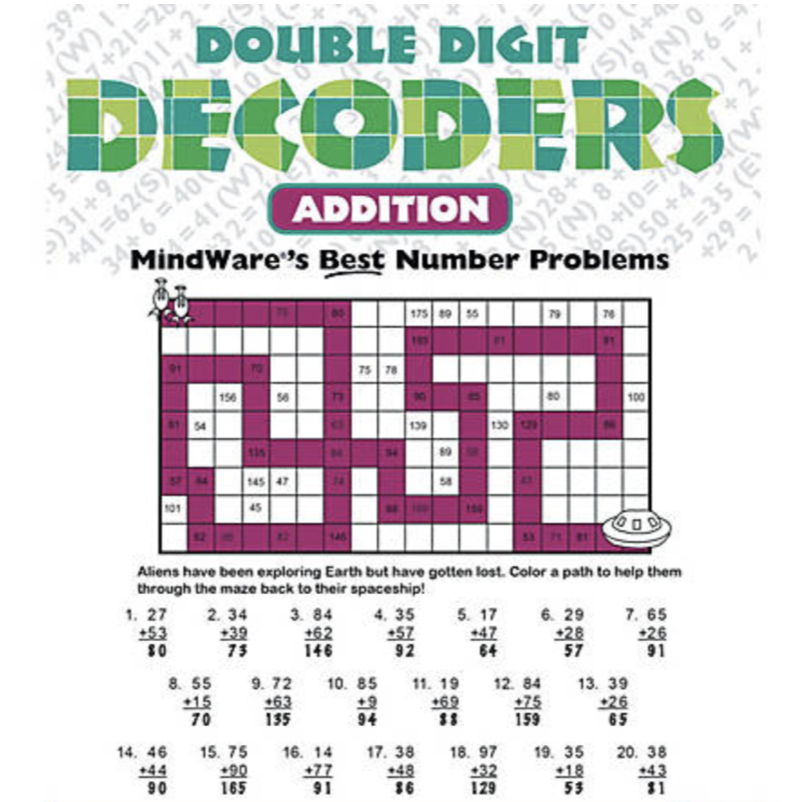Mindware Double Digit Decoders: Addition