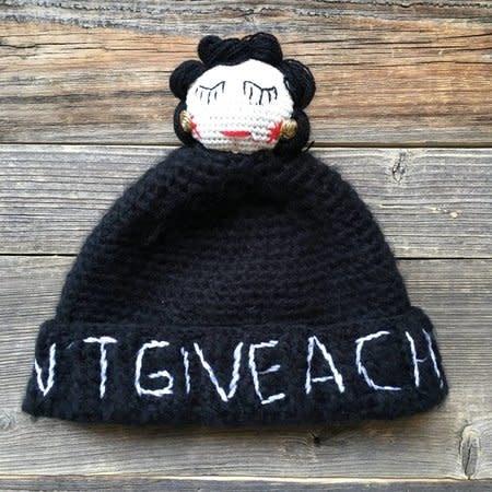 Mua Mua Dolls Knit Beanie Hat Karletto - Black