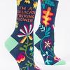 Blue Q Women's Socks Delicate Flower