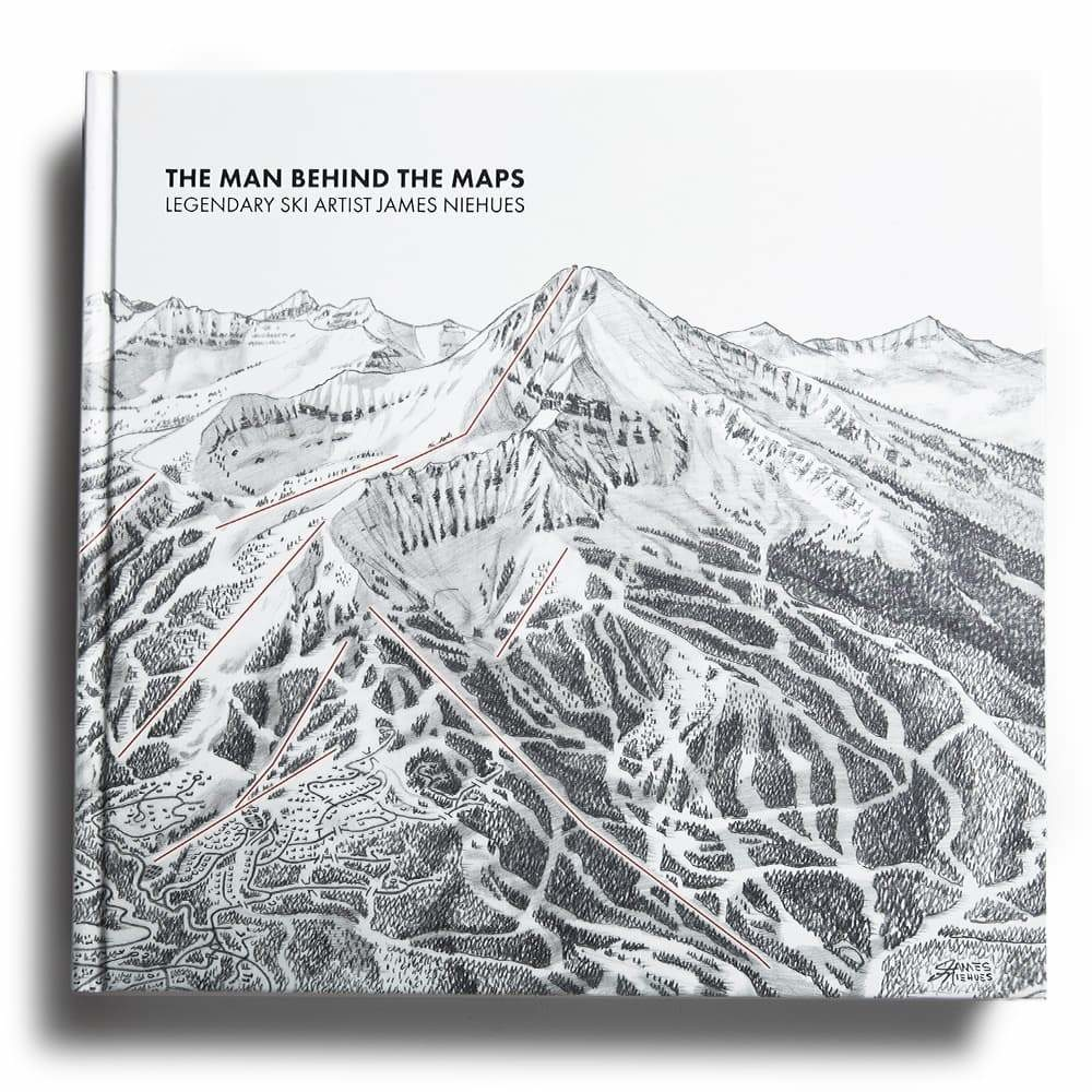Man Behind The Maps: Legendary Ski Artist James Niehues