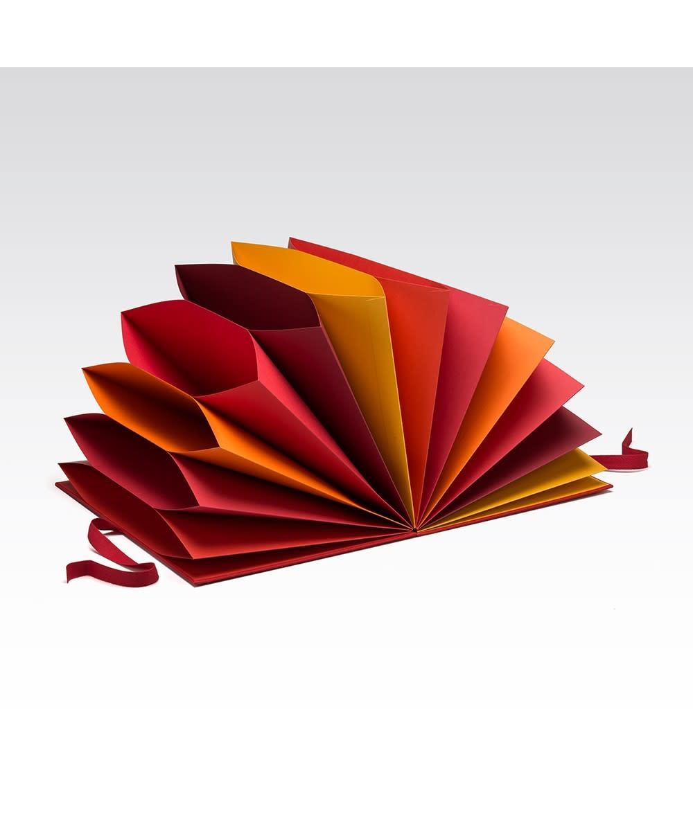 Fabriano Multicolored Folder - Red