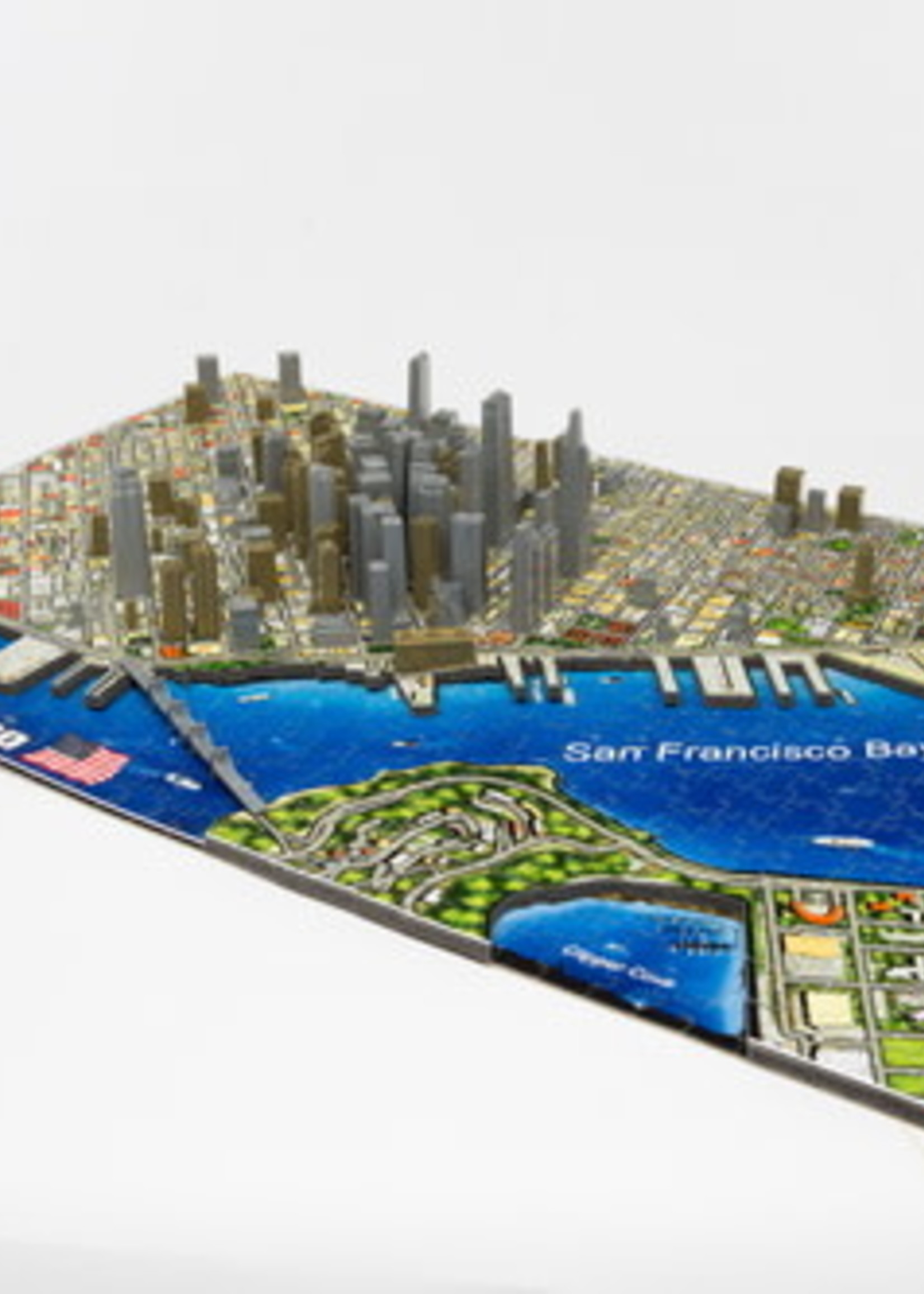 Cityscapes Puzzles 4D Cityscape Puzzle - North American Cities
