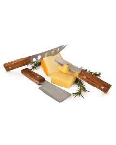 Twine Rustic Farmhouse Gourmet Cheese Knife Set