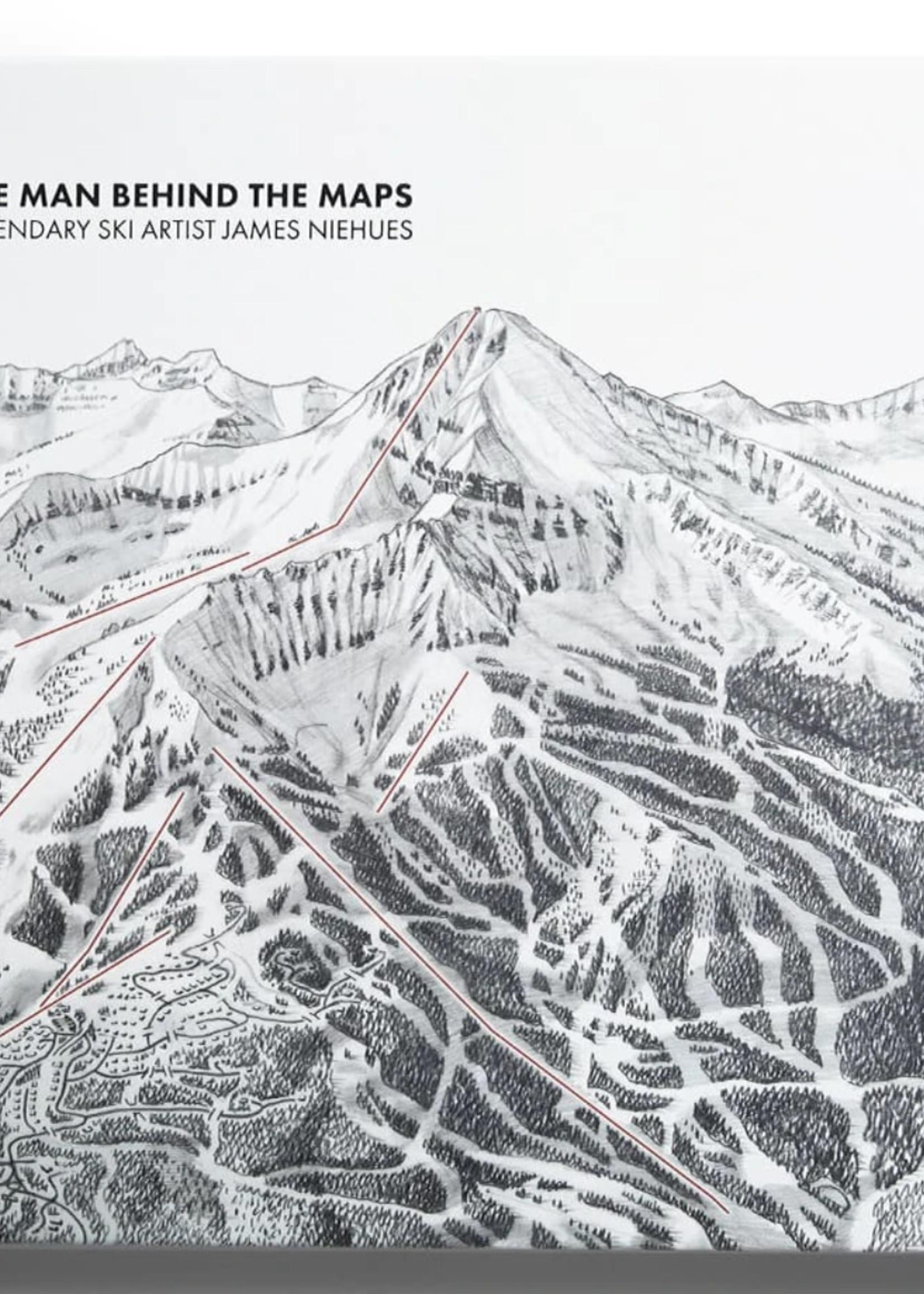 Open Road Ski Company Man Behind The Maps: Legendary Ski Artist James Niehues