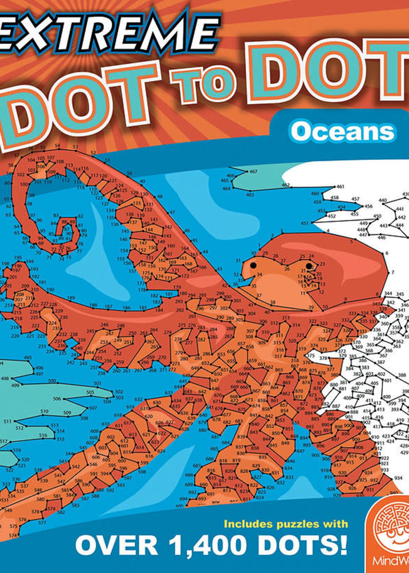Mindware Mindware Extreme Dot to Dot: Oceans