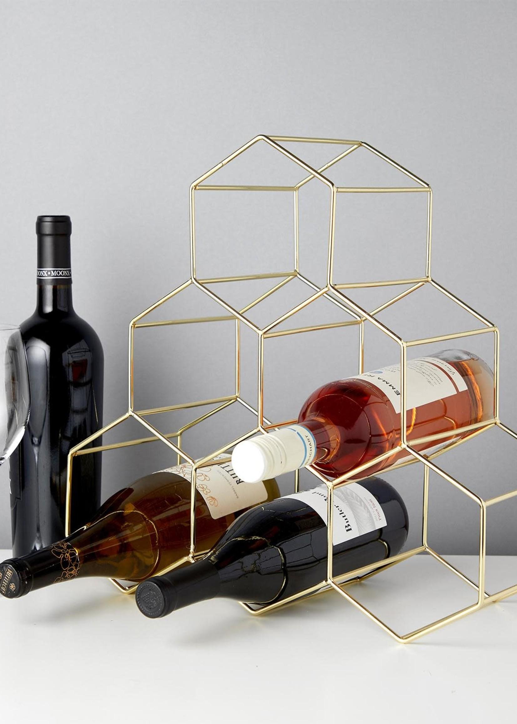 Viski Viski Belmont: Geo Wine Rack