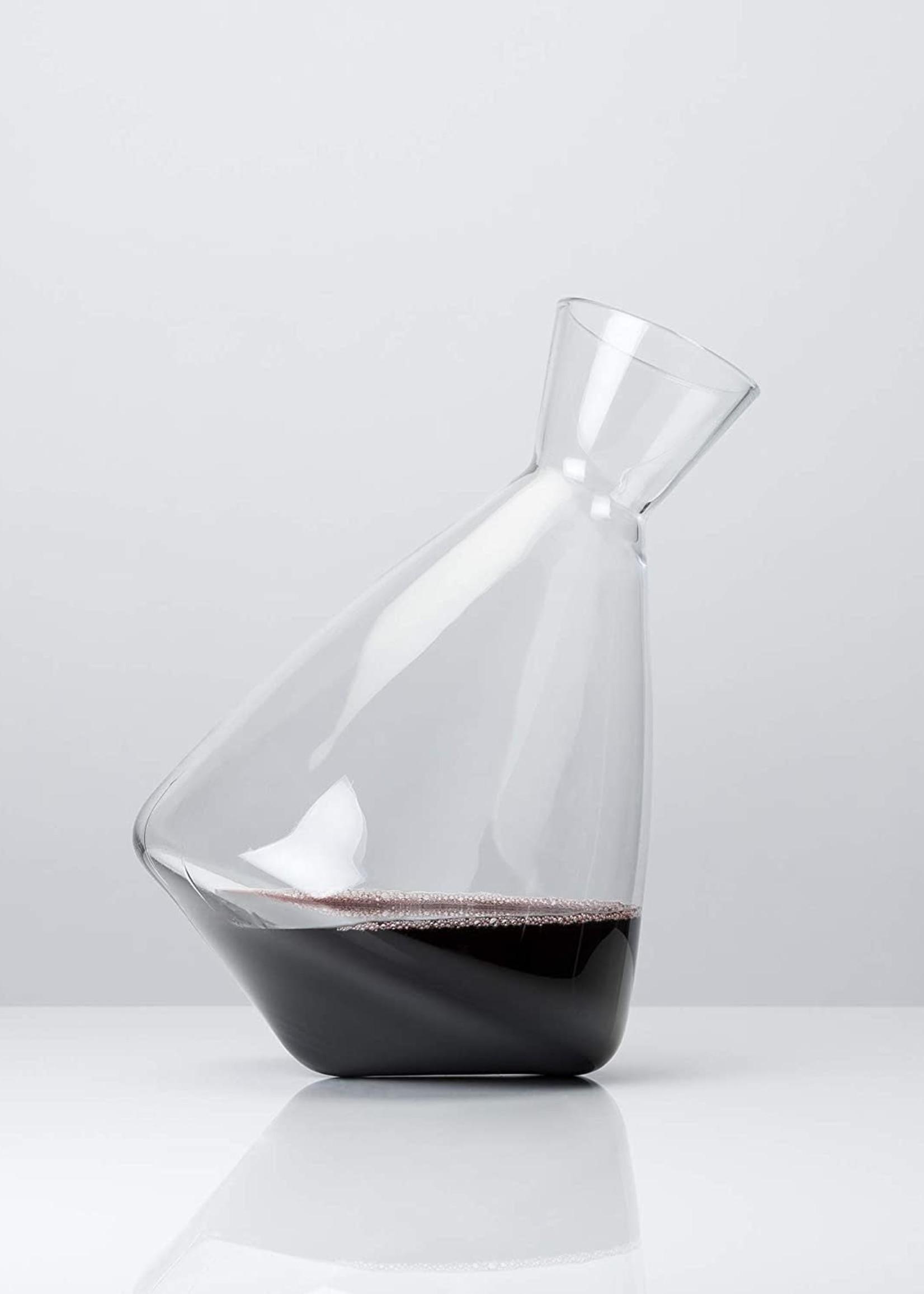 Viski Viski Raye: Crystal Rolling Decanter