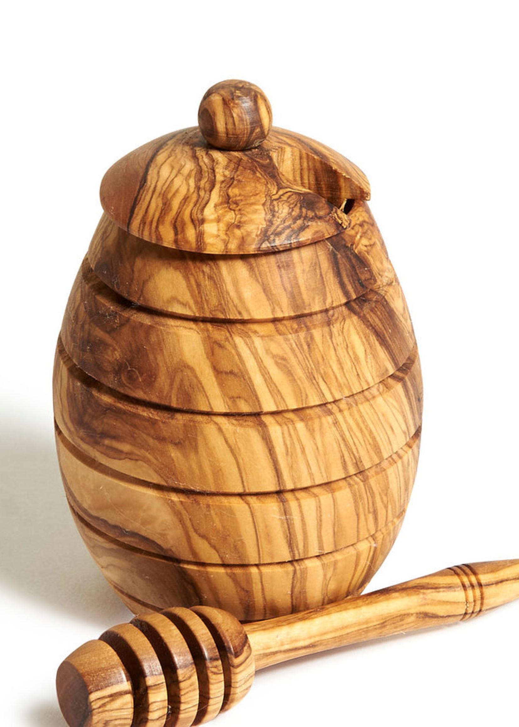 Natural OliveWood Natural OliveWood Honey Jar