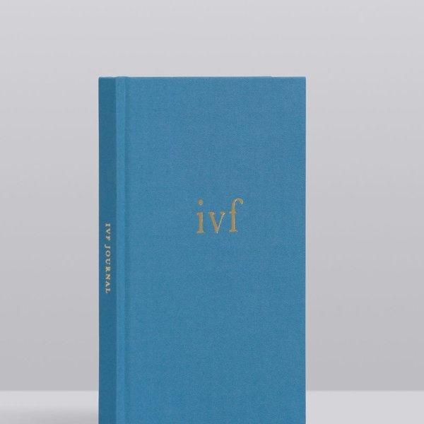 Write To Me Write To Me IVF Journal. Blue