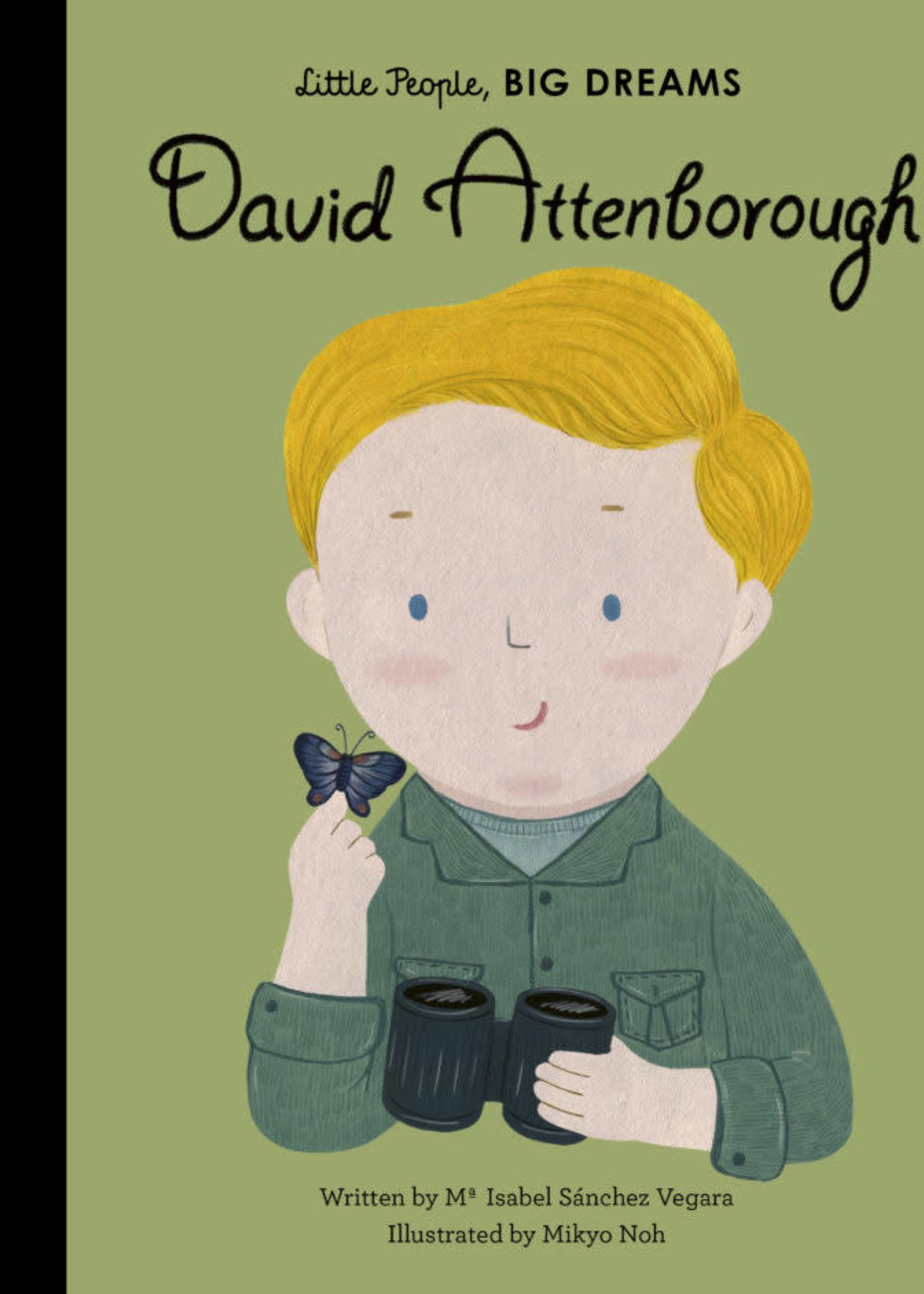 Hachette Little People Big Dreams David Attenborough