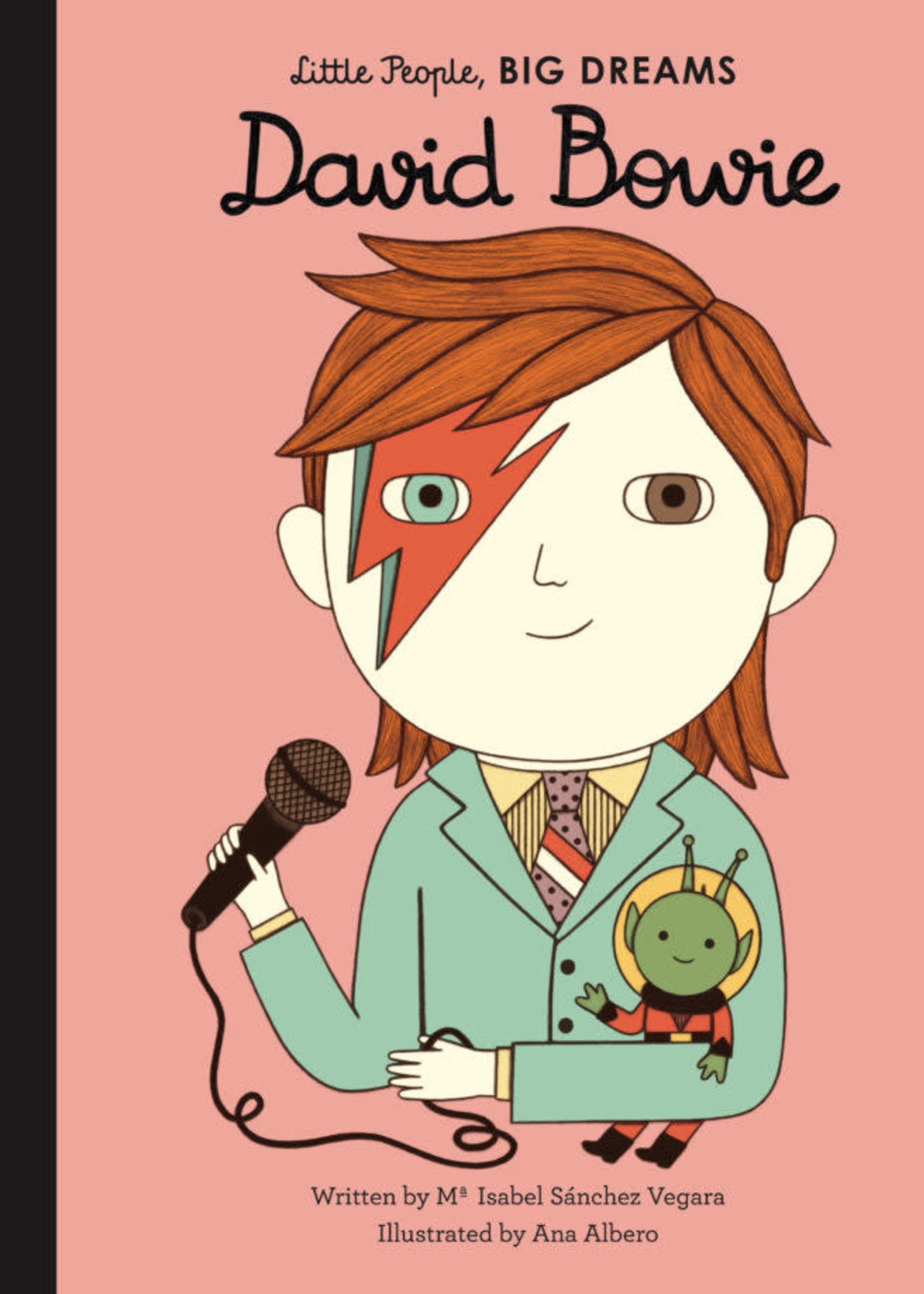Hachette Little People Big Dreams David Bowie