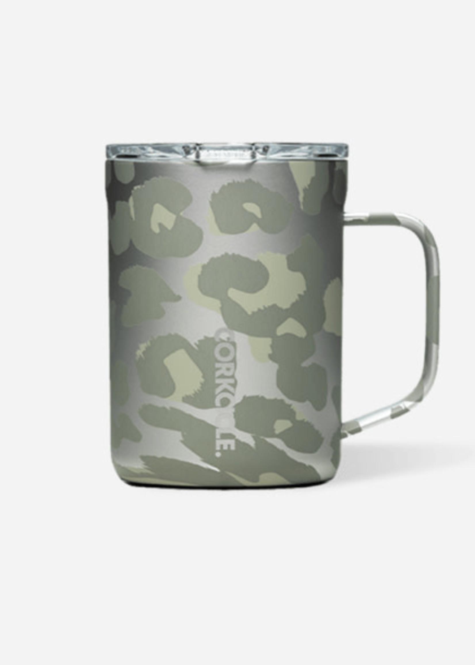 Corkcicle Corkcicle Mug 16oz - Snow Leopard