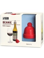 Monkey Business Monkey Business Beanie Bottle Stoppers - Red/Grey