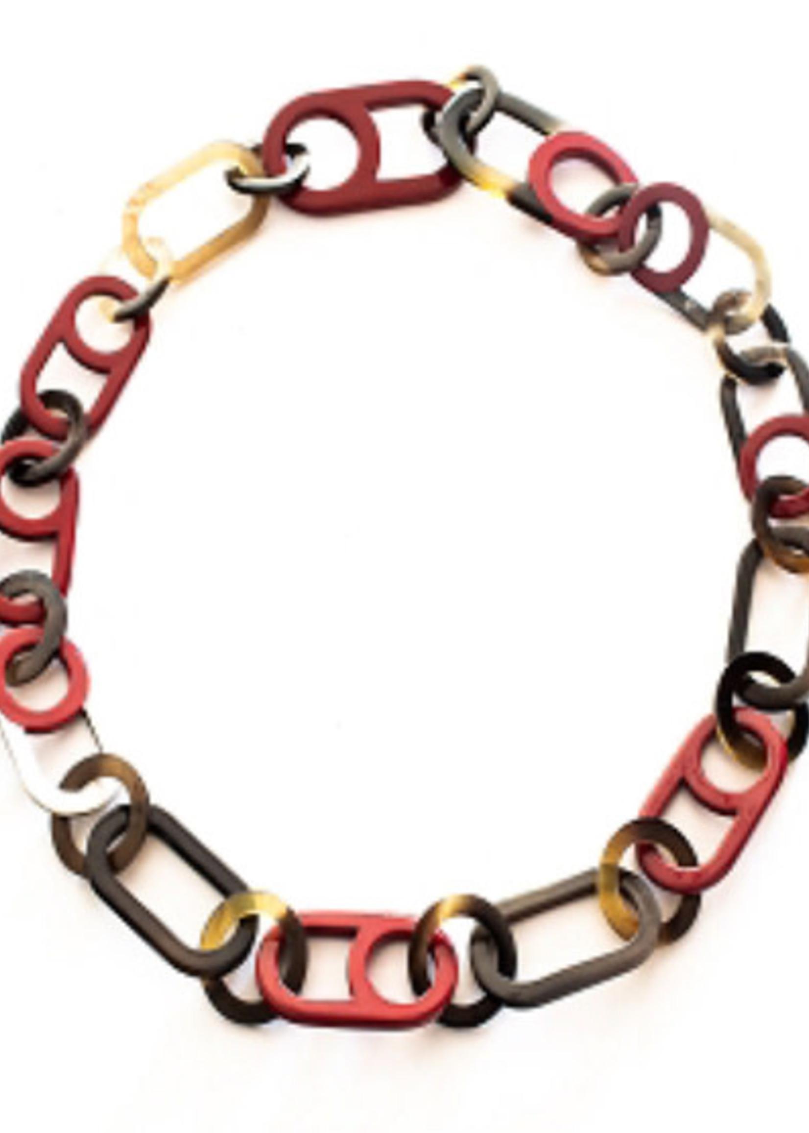 Bijoux Bijoux Cherry Delight Horn Necklace