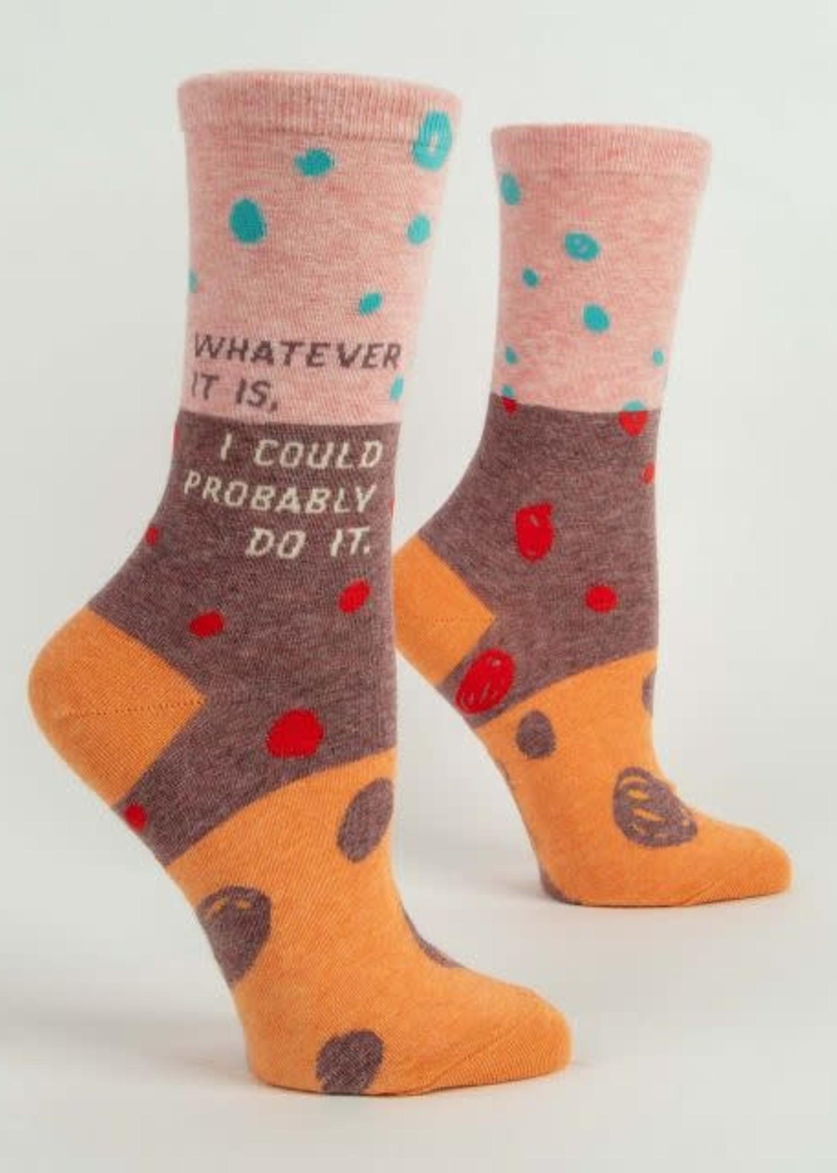 Blue Q Blue Q Women's Socks Whatever It Is