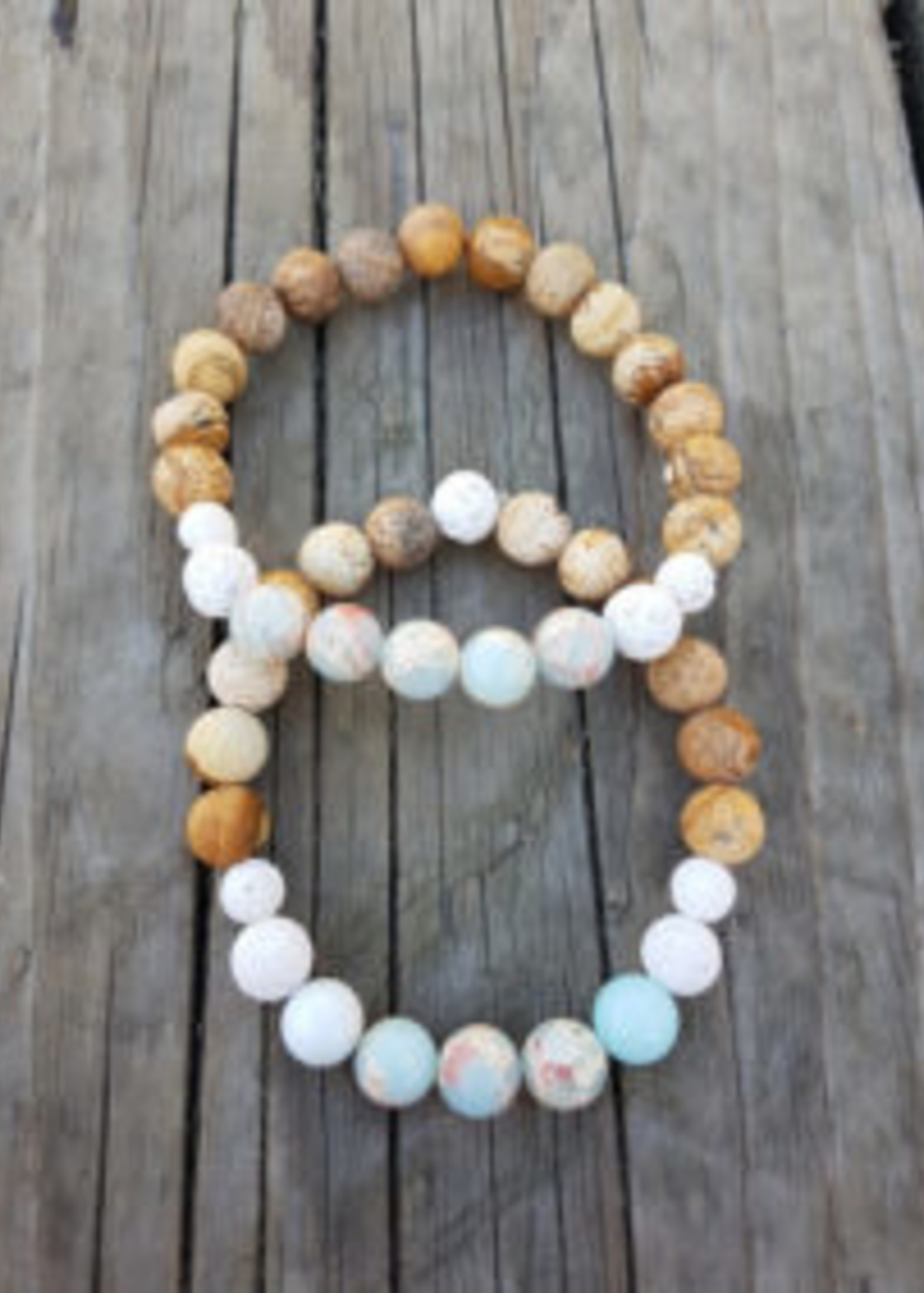 Rock The Feather Rock The Feather Gemstone Bracelets