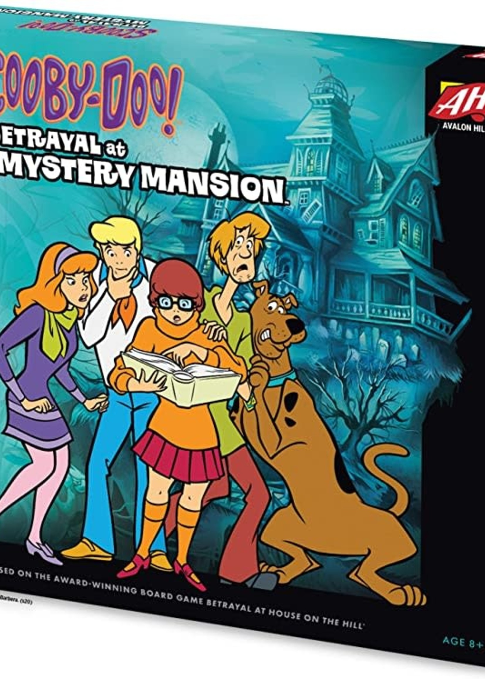 Lion Lion Scooby-Doo: Betrayal at Mystery Mansion