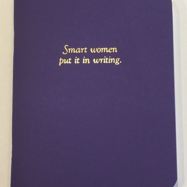 Original Brooks Original Brooks - Smart Women Put it in Writing