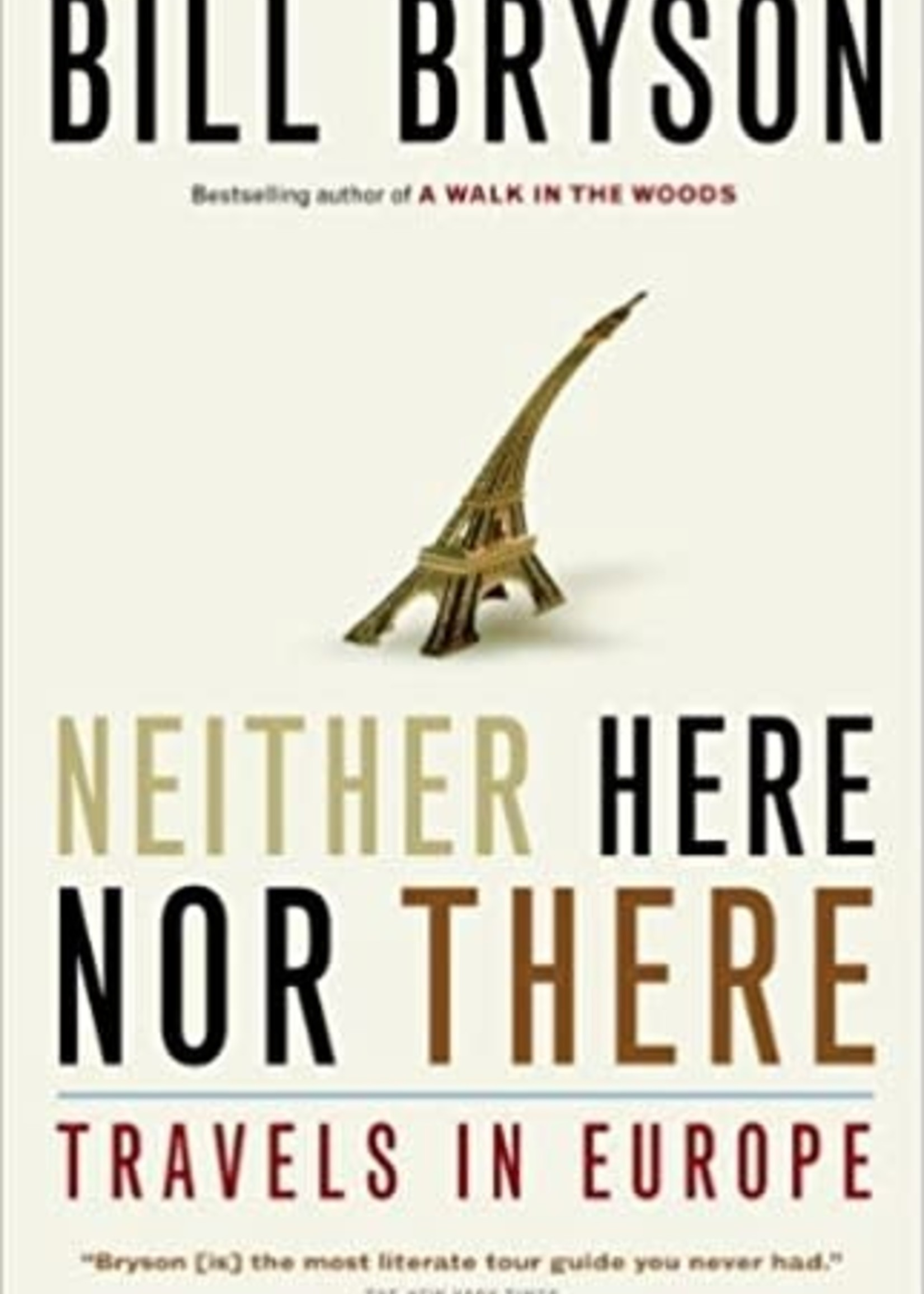 Penguin Random House Bryson: Neither Here Nor There