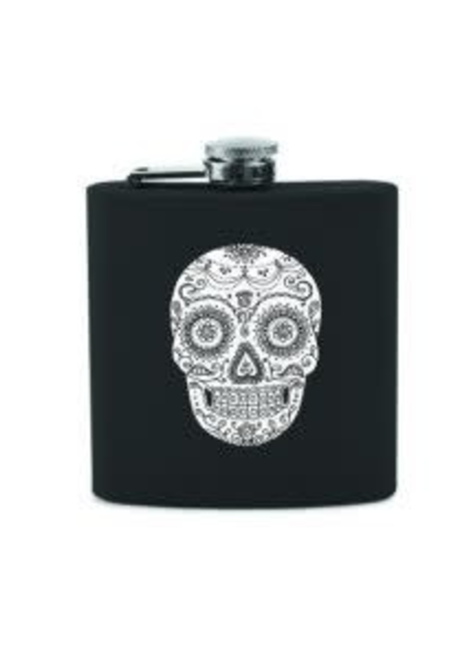 True True Dia De Los Muertos Flask