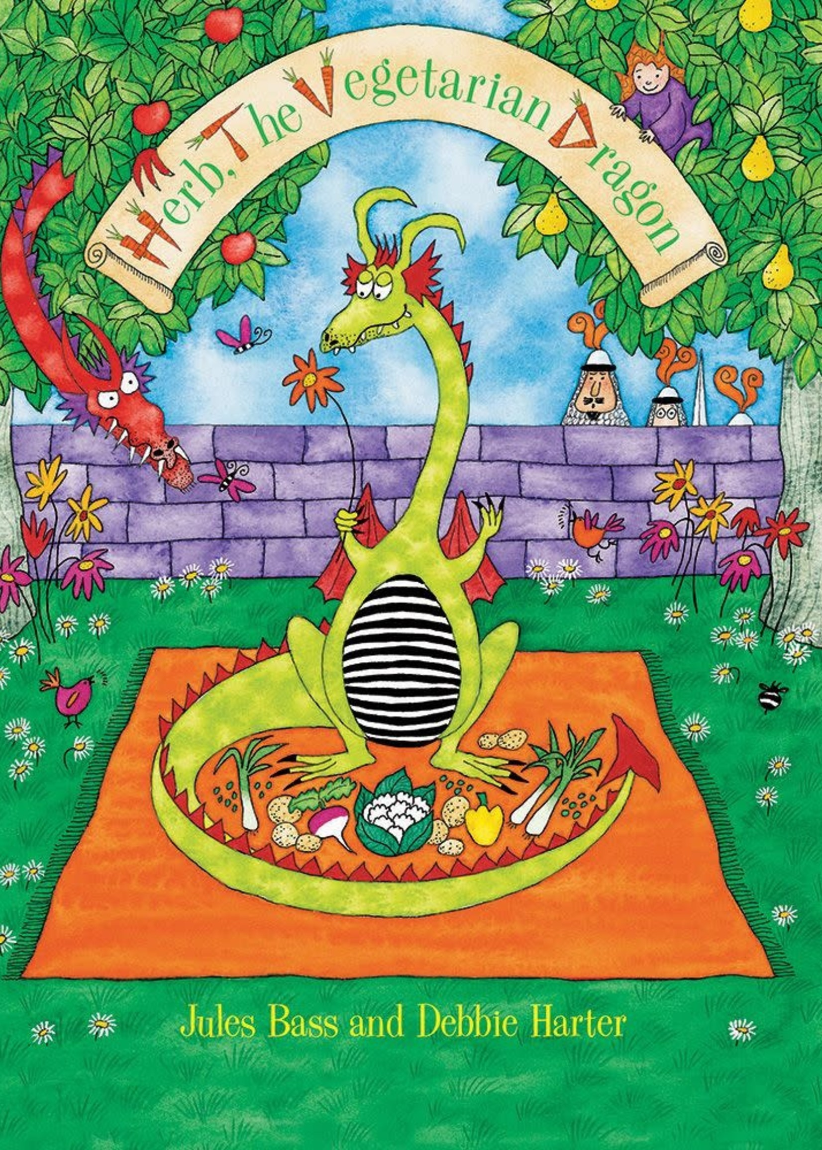 Barefoot Books Barefoot Books Herb The Vegetarian Dragon