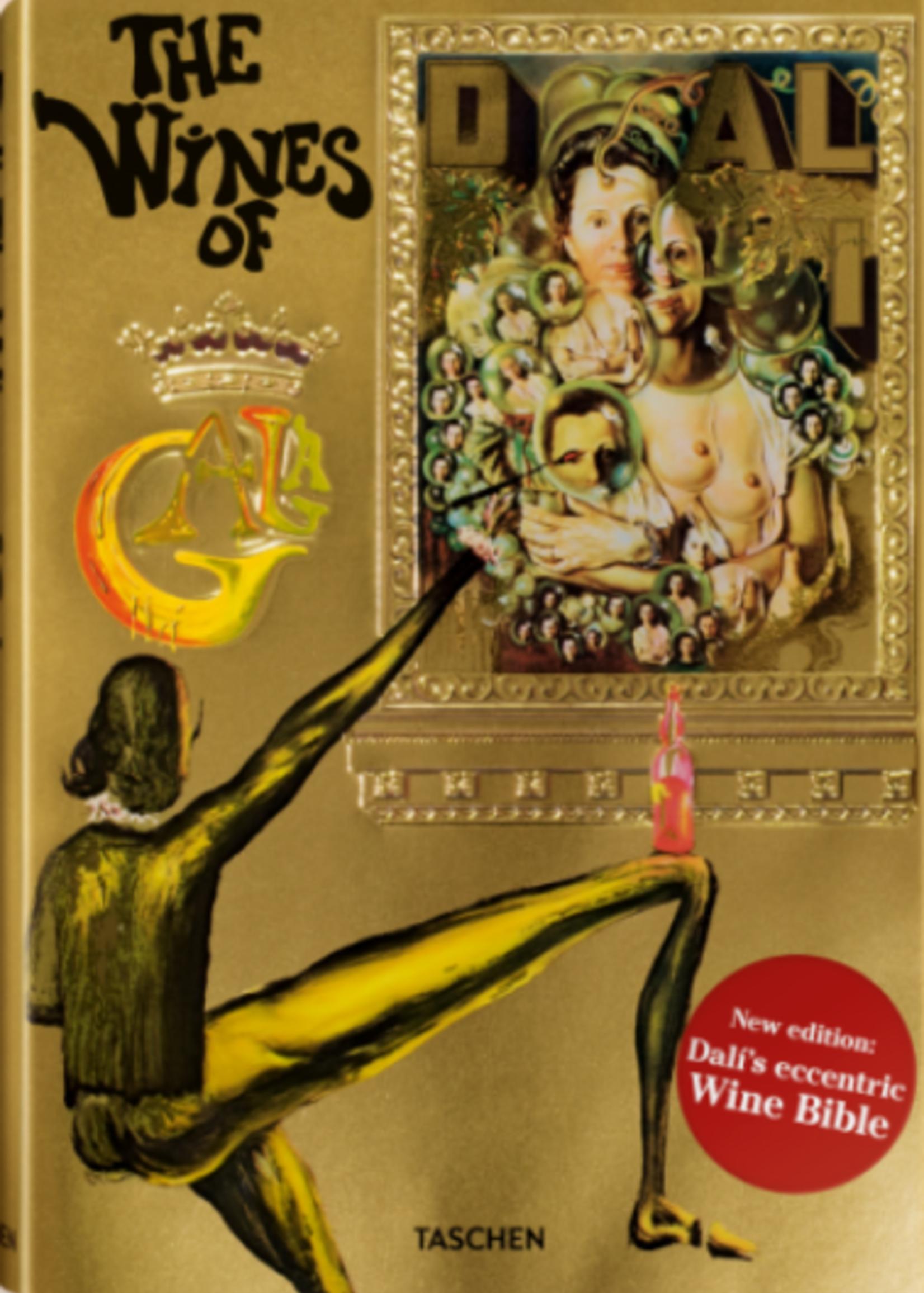 Taschen Taschen Dali: The Wines of Gala