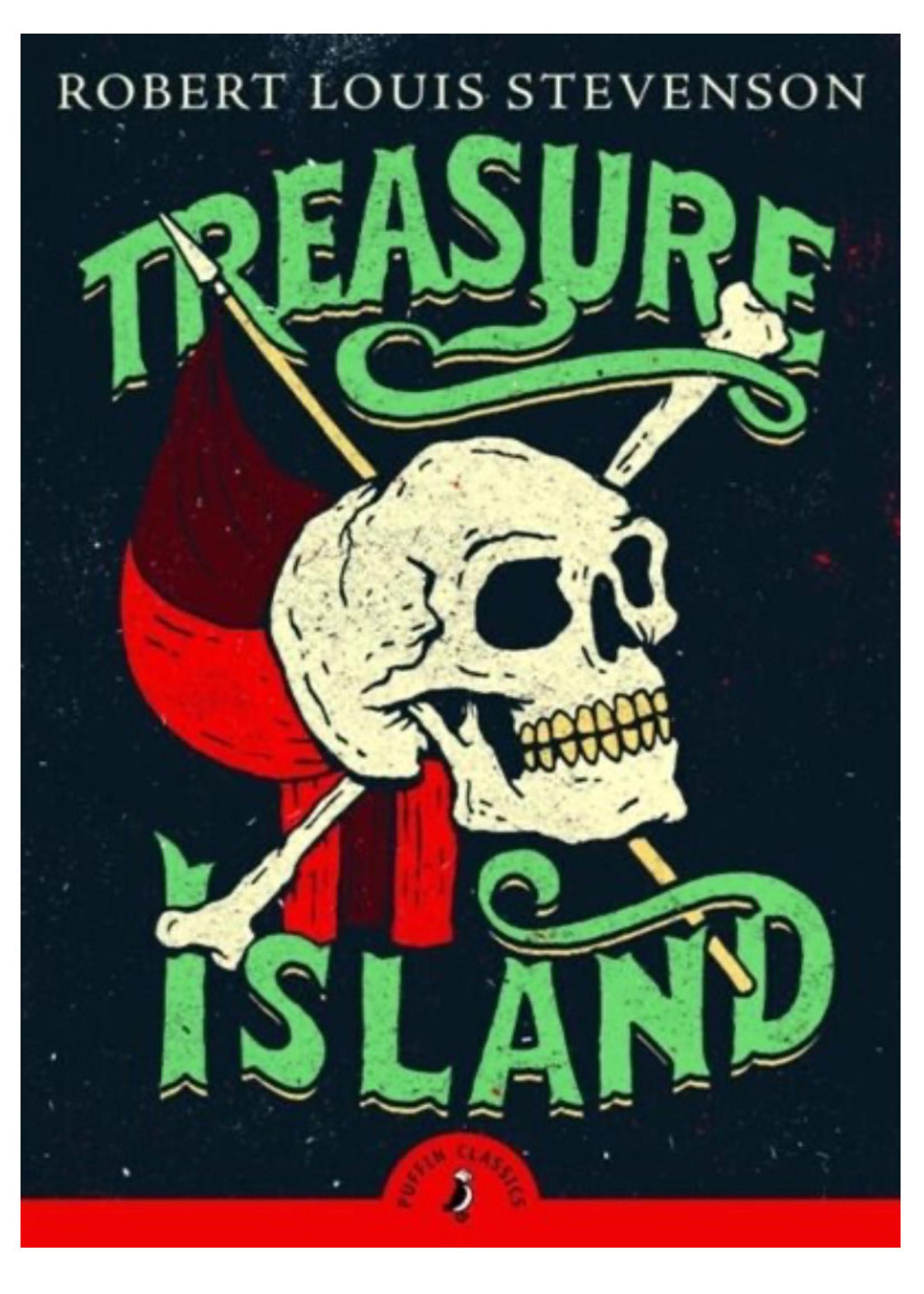 Penguin Random House Treasure Island - Stevenson