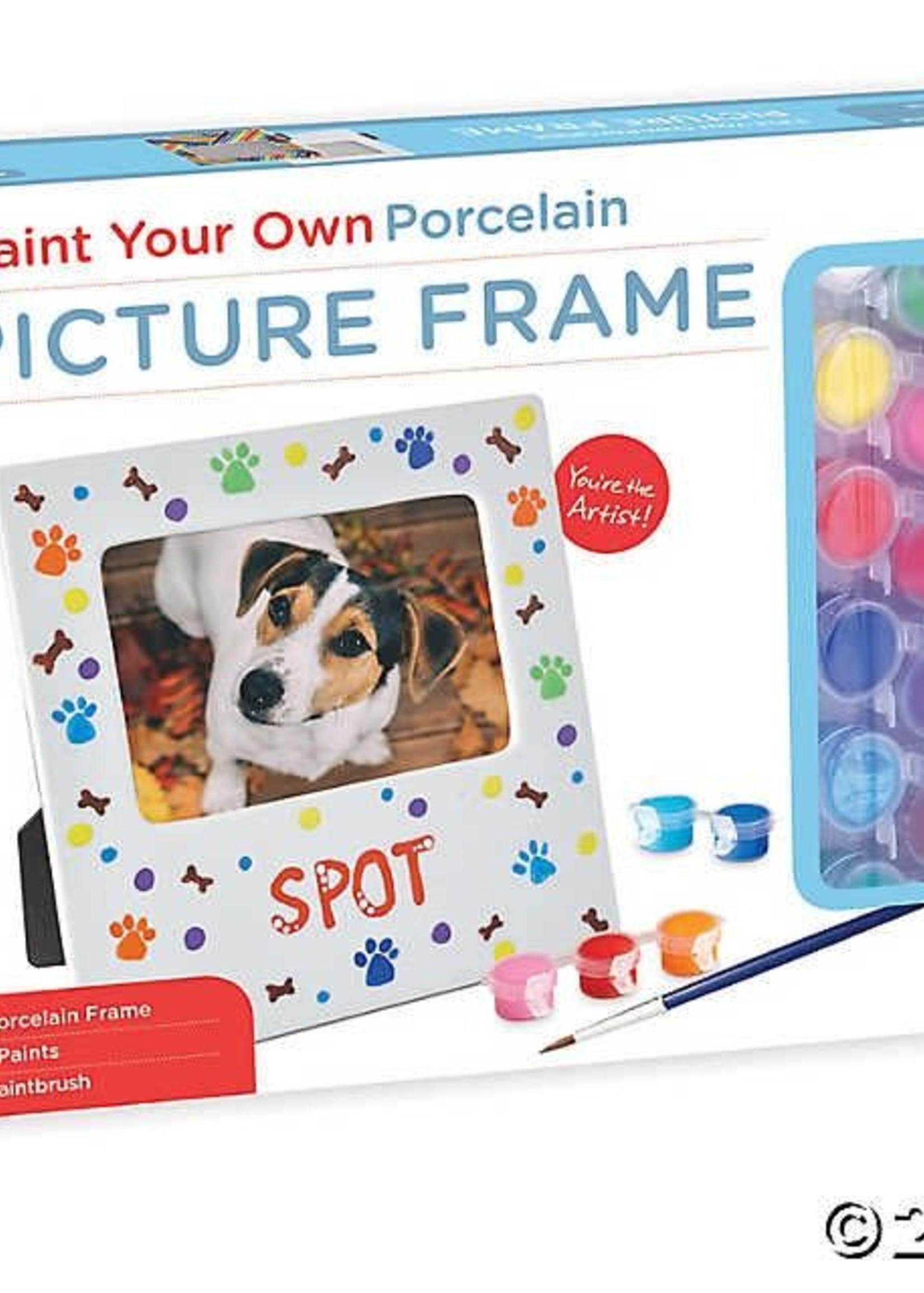 Mindware Mindware Paint-Your-Own Porcelain Picture Frame