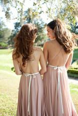 Skylar Belle Payton Maxi Dress - Millennial Pink