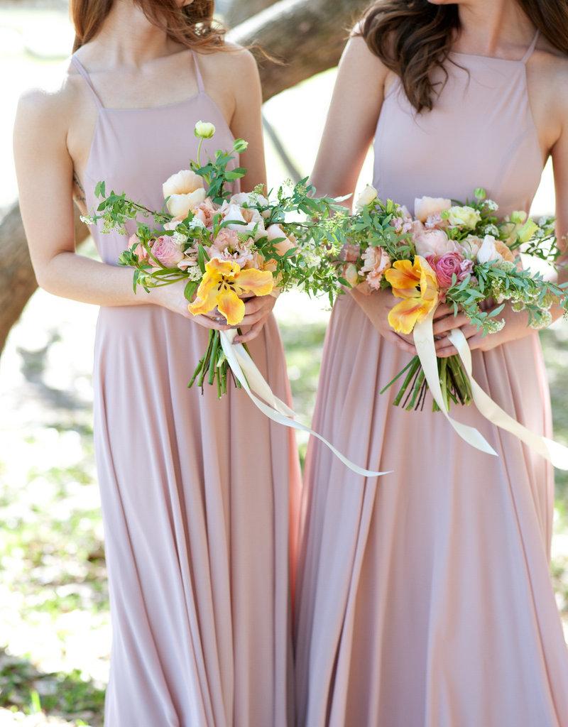 Skylar Belle Payton Maxi Dress - Blush Pink