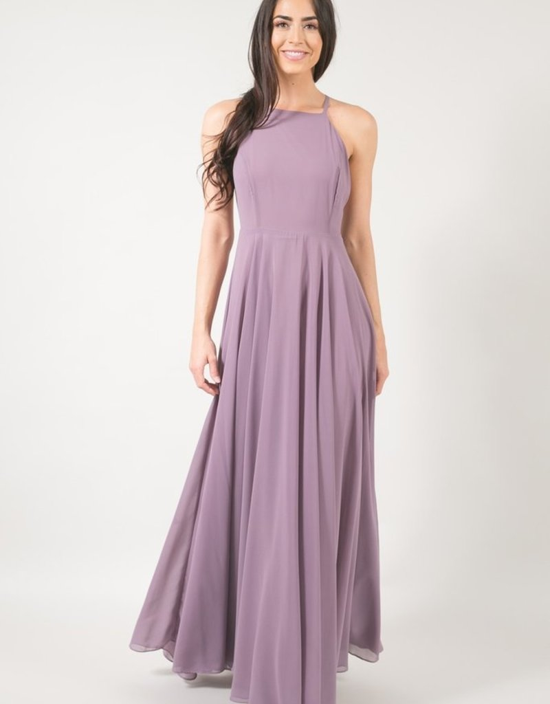 Skylar Belle Payton Maxi Dress - Mauve