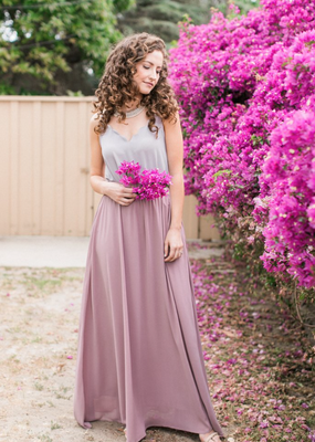 Space46 Kelly Maxi Skirt - Mauve