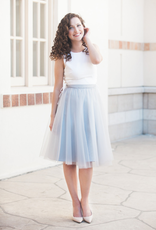 Space46 Adrian Soft Tulle Skirt - Grey