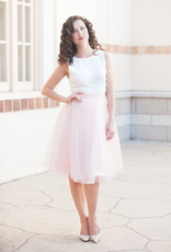 Space46 Adrian Soft Tulle Skirt - Blush