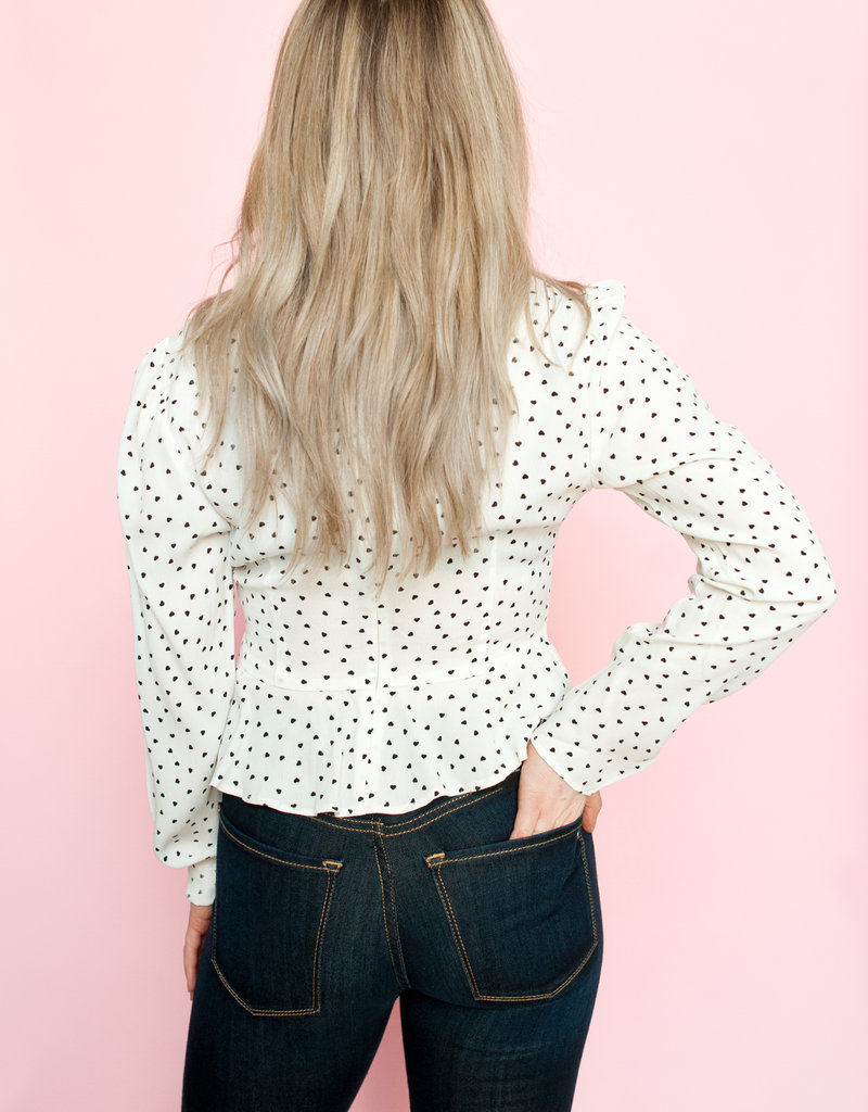 The Fifth Label Amore Fitted Long Sleeve Top
