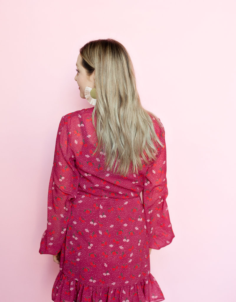 The Fifth Label Rosie Long Sleeve Wrap Dress