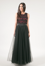 Space46 After Dark Soft Tulle Maxi Skirt *More Colours*