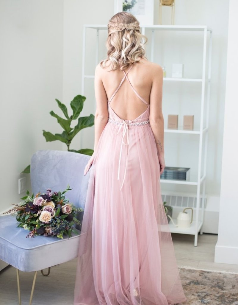 Luxxel Selena Tulle Maxi Dress *More Colours*