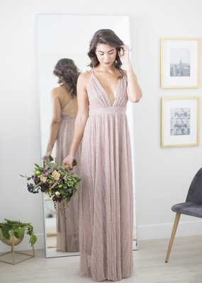 Luxxel Shimmer Maxi Dress *More Colours*