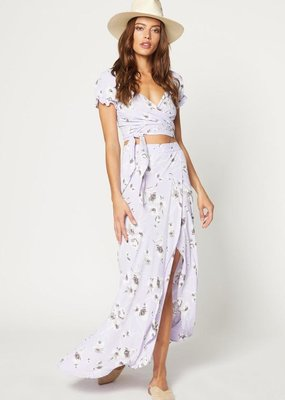 Flynn Skye Flynn Skye - Wrap It Up Skirt in Morning Bouquet